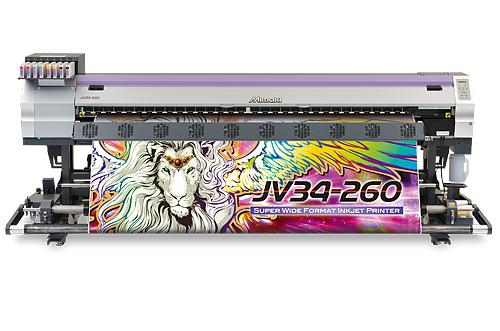 Mimaki JV34-260 GrandFormat-Lösemitteldrucksystem