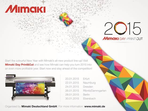 Mimaki Days Print und Cut